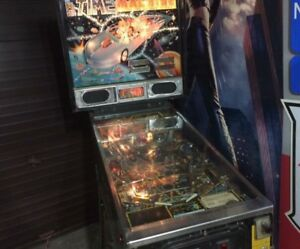 Buying pinball machines running or projects