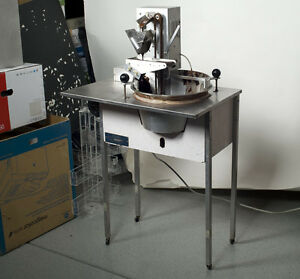 hilliard chocolate tempering machine used