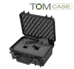 Outdoor Case 336x300x148 Kamerakoffer wasserdicht, Fotokoffer mit Rasterschaum