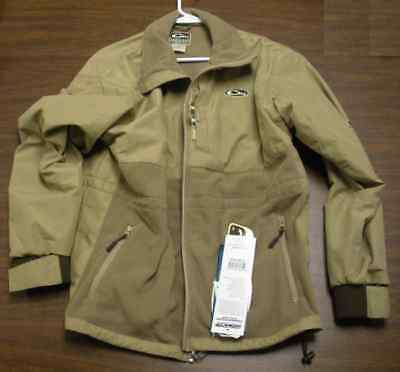 Drake Waterfowl 433 Medium Mst Eqwader Plus Fullzip Shirt Jacket Khaki 13581