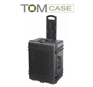 Outdoor Case groß, Trolley, Kamerakoffer Fotokoffer wasserdicht mit Rasterschaum