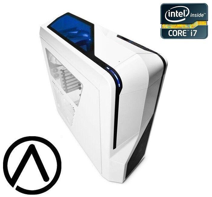 Liquid Cooled i7-7700K GeForce GTX 1080 SLI Ready 250GB SSD 2TB Gaming Computer