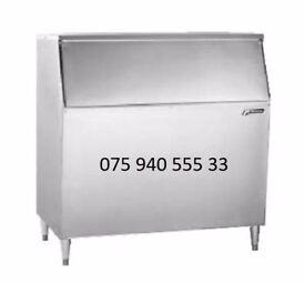 Brand New Commercial Follett Ice Storage Bin with storage 430 kg