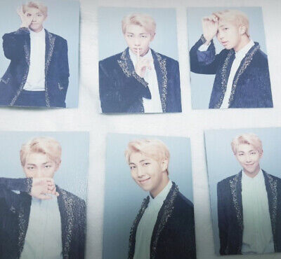 BTS Official Wings Final Concert MD RM Namjun Mini Photo Set 17 Collectible