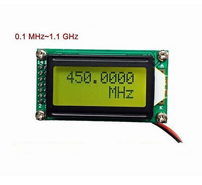1 Mhz 1.1 Ghz Frequency Counter Tester Measurement For Ham Radio Plj-0802-c