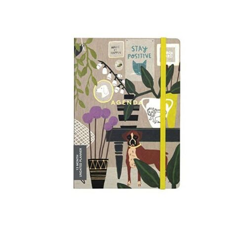 *NEW* Anne Bentley Inspired Life Gilded Undated Planner, 13 Month Calendar E10-C