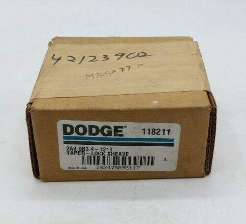 DODGE 118211 Taper Lock Sheave