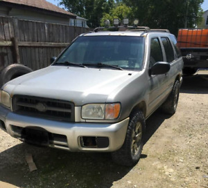 2003 Nissan Pathfinder 4x4 for Sale/Trade for ATV