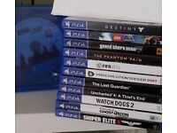 Sony Playstation 4 Games For Sale * Top Titles * Mint Condition *