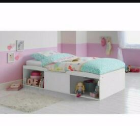Single White Cabin Beds