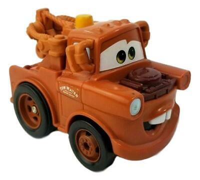 Disney Pixar Cars 2 Fisher Price Shake N Go Talking Moving Mater Tow Truck PXC6