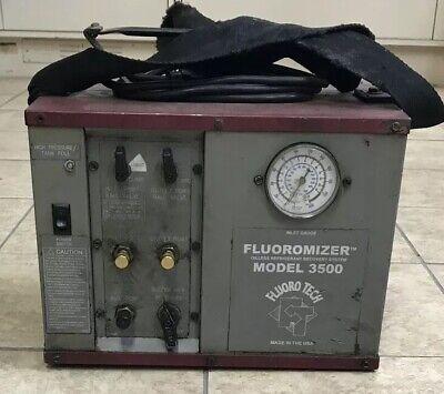 Fluoromizer 3500 Oilless Refrigerant Recovery Machine Unit System