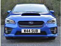 W44 SUB – Price Includes DVLA Fees – Great Subaru Cherished Private Registration Number Plate