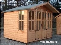 GARDEN SUMMERHOUSES PRICES FROM £950.00