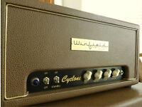 Winfield Thomas Cyclone, hand-Built US AC15 Style Valve Guitar Amp head & custom cab - AS NEW