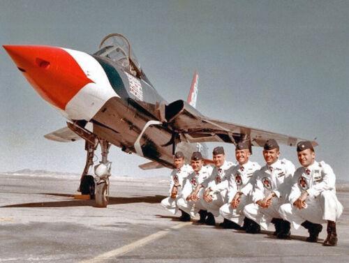 "USAF Republic F-105 Thunderchief ((8.5""x11"")) Print"