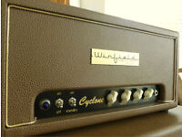 Winfield Thomas Cyclone, hand-wired, US Built AC15 Style Valve Guitar Amp head & custom cab - AS NEW