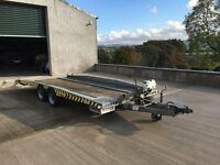 Car Transport Service Including Driver, Vehicle and Brian James Winched Tilt Bed Trailer