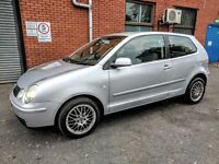 VW POLO S 1.2 - CHEAP TO RUN -LOW MILES 63K - LOW INSURANCE GROUP