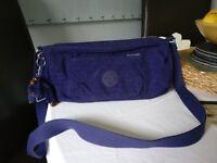 Kipling cross-body bag - dark purple colour - in good condition, hardly used