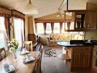 2 Bedroom 6 berth static caravan in Kent - near the beach Camber Dymchurch Ashford Whitstable