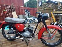 Rare Vintage BSA Bantam Motorcycle