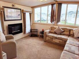 Luxury 2 bedroom / 6 berth static caravan in Kent near Dymchurch Camber Hythe Ashford - DG / CH