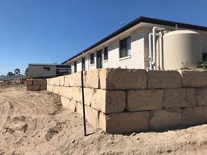 Sandstone Blocks for Retaining Walls Brisbane City Brisbane North West Preview