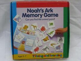 Noah Ark Memory Game