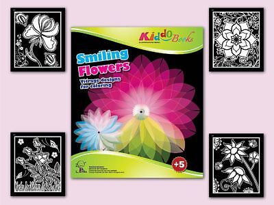 iling Flowers - Blühende Blumen (Malbuch Blumen)