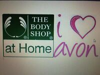 Lulu's Avon & The Body Shop at Home