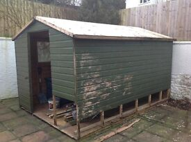 12ft x 8ft shed