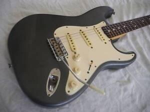 Fender Stratocaster Standard 'Custom Gun metal'...will post Redlynch Cairns City Preview