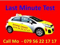 Driving Test - Last minute or Fast Track Driving Course.