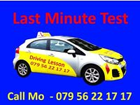 Last Minute Driving Test, Super Fast Track Possible,.. ….…Intensive Course..….. ALL LONDON & UK,