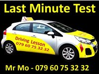 Driving Test, Last Minute …. Cover London & UK,…… ....... Intensive Course, ( 100 % Practical )