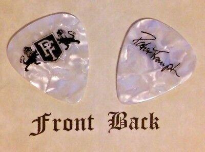 FRAMPTON - PETER FRAMPTON band signature logo guitar pick  (q)