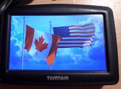 TomTom ONE XXL mit kompl. USA _Kanada_Alaska alle Länder von  >>  2018-2019  << usato  Spedire a Italy