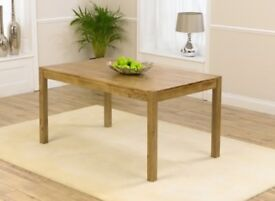 Oxford Solid Oak Dining Table & 2 Chairs