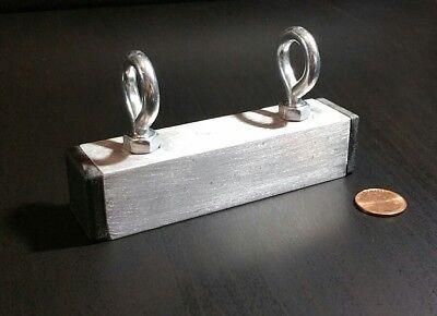 1 Large Neodymium Fishing Magnet Rare Earth Treasure Hunt 4 X 1 Strong 50 Lb