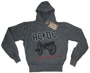 AC-DC-For-Those-About-to-Rock-Vintage-Amplified-Hoodie-Sweatshirt-S-M