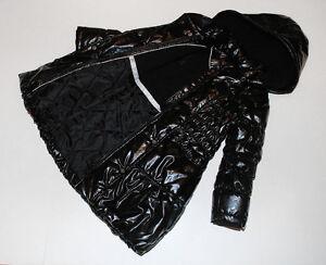 Deux Par Deux Black Shiny Winter Puffer Black Girls Coat Size 8 Stratford Kitchener Area image 6