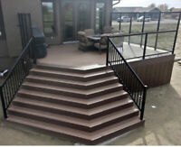 Spring is here!  Let us build you the deck of your dreams!