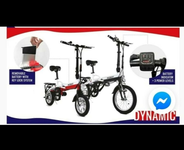 LTA approved foldable PAB or ebike . Order now n get free delivery after the 8th.
