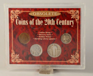 Coin Set - Obsolete Coins of the 20th Century USA