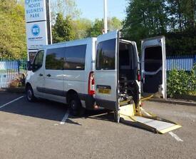 Renault MASTER SL33 DCI 100 Wheelchair Access - WAV - Camper Day Van - Race Van