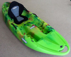 New Winner Purity2 Kayak w/Wheel, Deluxe Seat, Paddle & Delivery