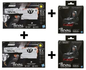 NEW Nerf Rival Kronos w/Rival Red Dot Sight Sharpshooter 4 pack