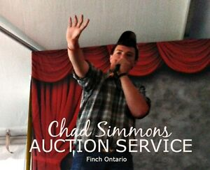 Chad Simmons Auctioneer , Finch Ontario Cornwall Ontario image 1
