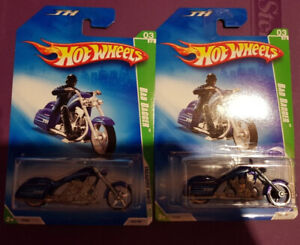 2009 Hot Wheels Super & Regular Treasure Hunt Bad Bagger